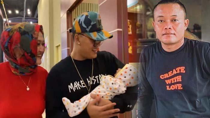 Lina Tersenyum saat Bayinya Digendong Rizky Febian, Sule : Gak Apa-apa Da Aku Mah Gak Bahagia