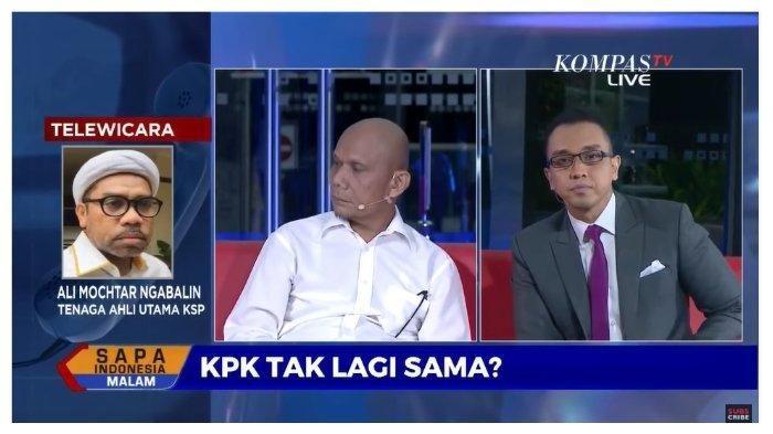 Menggebu-gebu, Ali Ngabalin Ungkap Permainan Politik KPK, Singgung Kepala Daerah yang Terjaring OTT