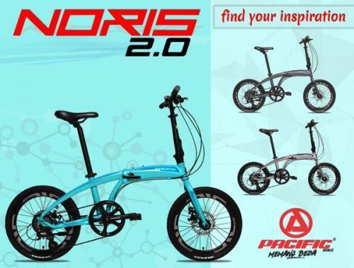 Rekomendasi Sepeda Lipat Pacific Noris, Ada yang Edisi Khusus Indonesia!